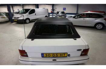 Ford Escort Cabrio 1.6 Xr3 Kat. 1990 Cabriolet / Top