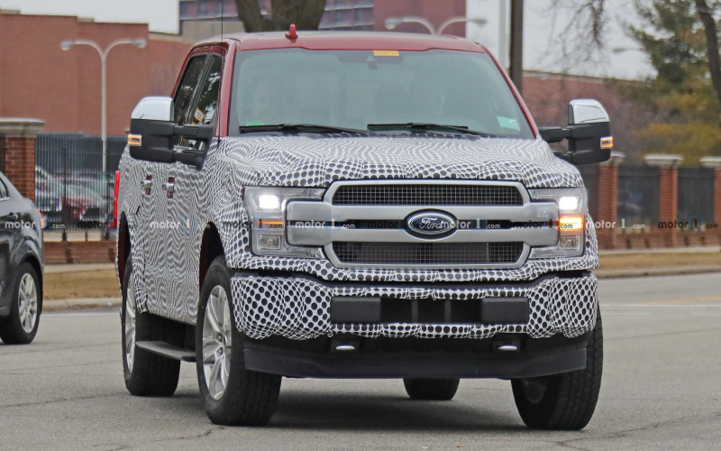 Ford F-150 Electric Coming As Early As 2021