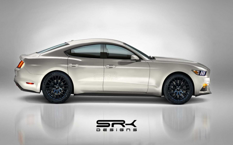 Ford Mustang Four-Door Fan Rendering Could Be The Falcon's