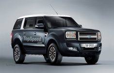 """Ford's """"Baby Bronco"""" Will Be Little More Than A Re-Bodied"""