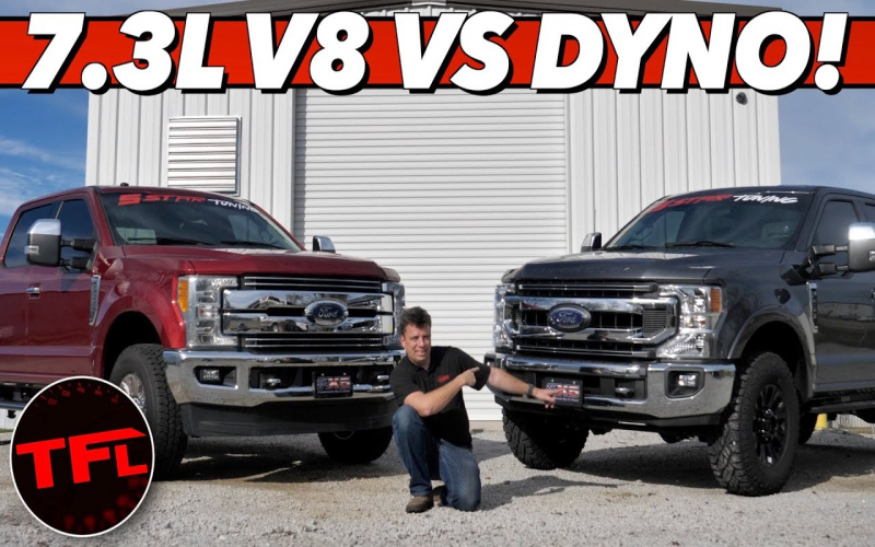 Godzilla Vs Dyno! This Is How Much Power & Torque The 2020 Ford Super Duty  Tremor Produces!