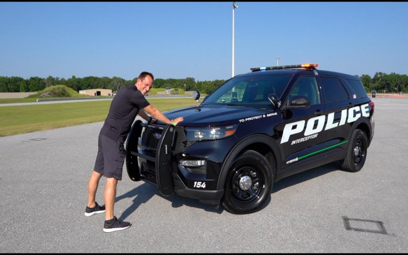 How Is The 2020 Ford Explorer Police Interceptor Hybrid A Major Upgrade?