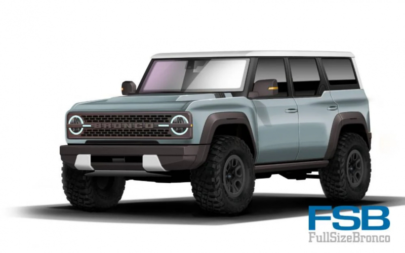 Leaked! 2021 Ford Bronco Paints Unearthed Before Its Reveal