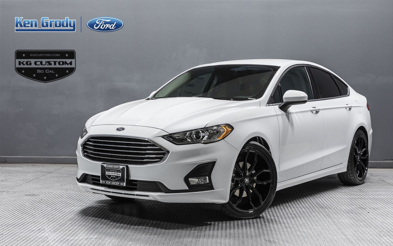 New 2020 Ford Fusion Se Fwd 4Dr Car