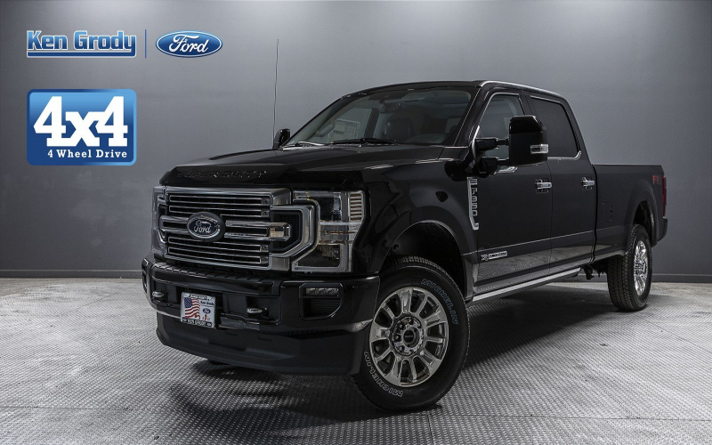 New 2020 Ford Super Duty F-350 Srw Limited With Navigation & 4Wd