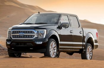 New 2021 Ford F-150 Rendered After Latest Spy Shots