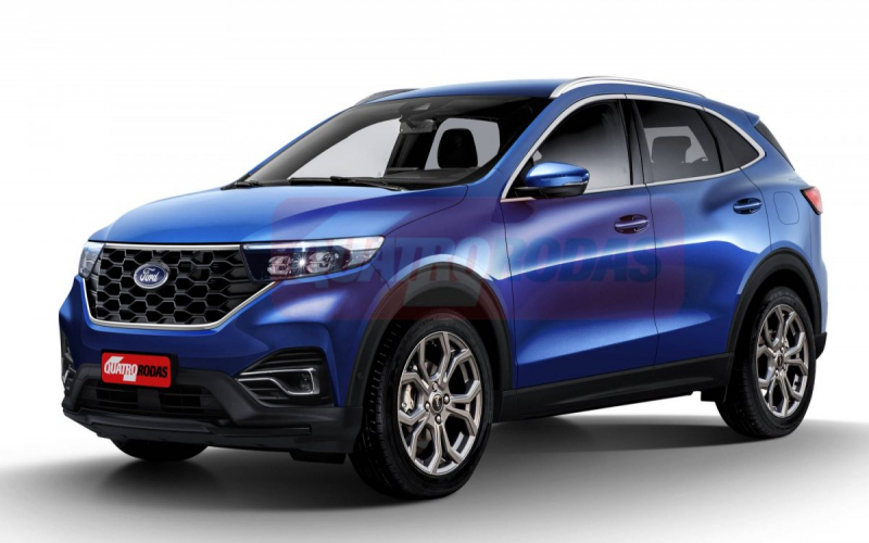 Next-Gen Ford Ecosport To Be Ford Mustang Mach-E-Inspired