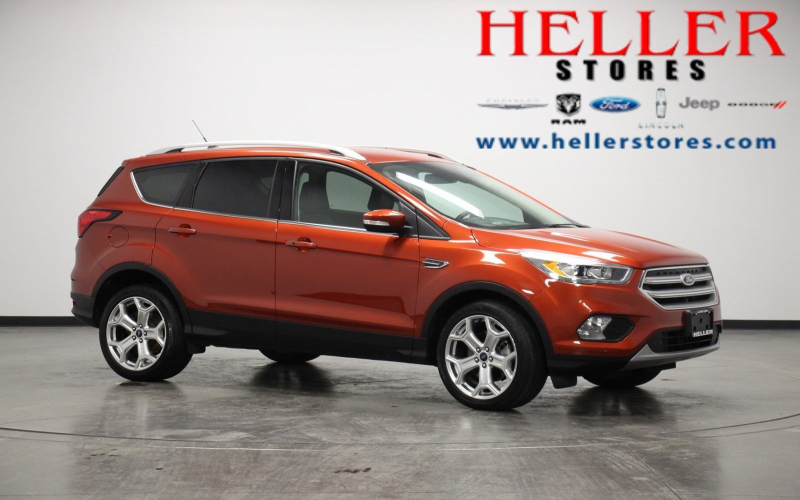 Pre-Owned 2019 Ford Escape Titanium 4Wd Sport Utility