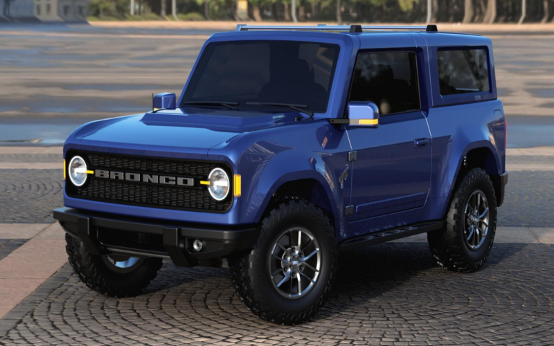 Retrolicious 2021 Ford Bronco Envisioned In Roofless