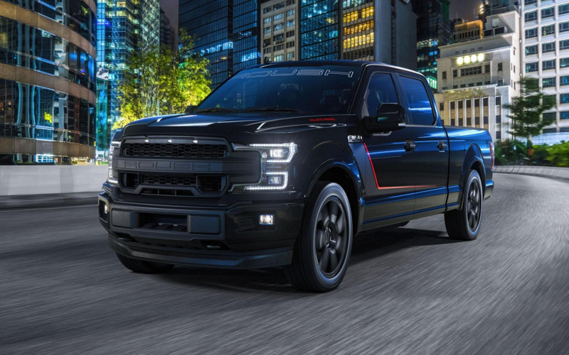 Roush F-150 Nitemare Is Een Pick-Up Met 650 Pk - Topgear