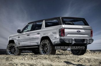 The 2020 4-Door Ford Bronco Concept Is Everything You've