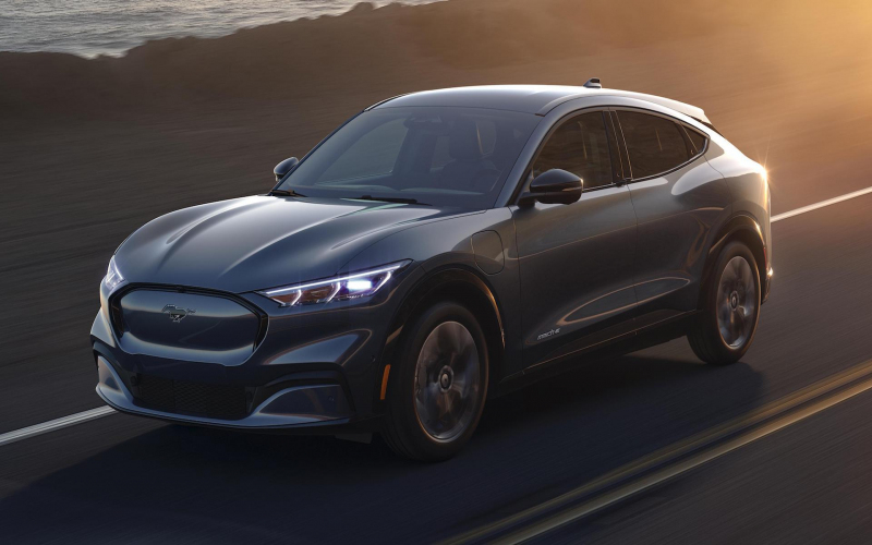 The All-Electric 2021 Ford Mustang Mach-E Suv Is Here - The
